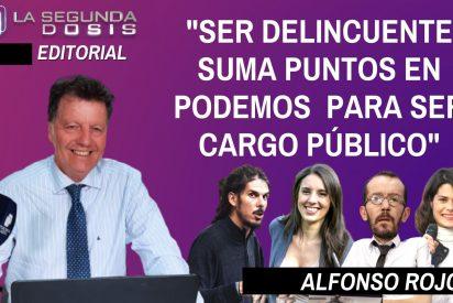 """Alfonso Rojo: """"Ser delincuente suma puntos en Podemos para ser cargo público"""""""