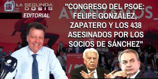 """Alfonso Rojo: """"Felipe González, Zapatero y los 438 asesinados por los socios de Sánchez"""""""