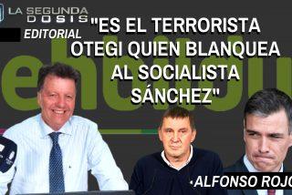 """Alfonso Rojo: """"Es el terrorista Otegi quien blanquea al socialista Sánchez"""""""