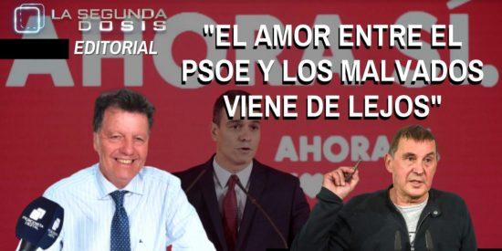 """Alfonso Rojo: """"El amor entre el PSOE y los malvados viene de lejos"""""""