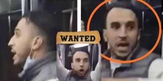 'Wanted': El vídeo del magrebí agrediendo salvajemente a un policía 'incendia' la red para dar con el facineroso