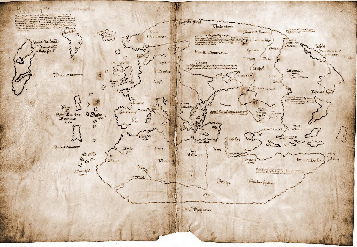 El mapa de Vinlandia es falso: los vikingos no cartografiaron América antes de Colón