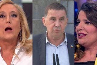 LaSexta: María Claver pone histérica a Elisa Beni desmontando la falsa disculpa de Arnaldo Otegi