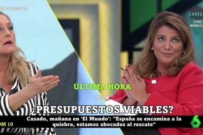 """El nuevo ridículo de Elisa Beni al debatir de los PGE: """"No digas tontunas"""""""