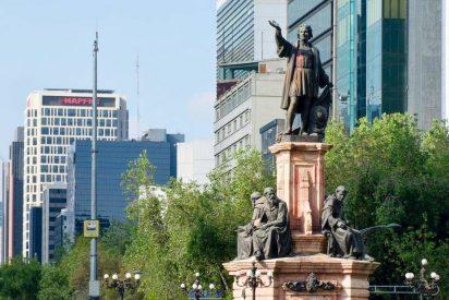 Estatua de Cristóbal Colón en México
