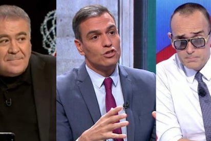 Sánchez se da en la nariz con las puertas giratorias del PSOE: 'Admite' a Ferreras que mintió a Risto en 2014
