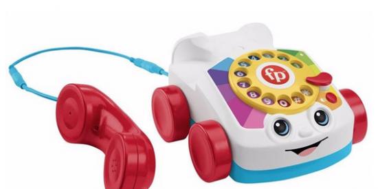 Los famosos teléfonos de juguete de Fisher-Price ya permiten hacer llamadas reales