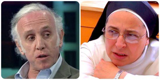 """Inda replica a los insultos de sor Lucía Caram: """"Ya no sé si es la monja cencerro o satánica"""""""