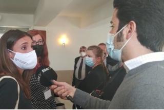 """La ruin respuesta de Irene Montero sobre la violación a una simpatizante de VOX en Reus: """"Condeno...el fascismo"""""""