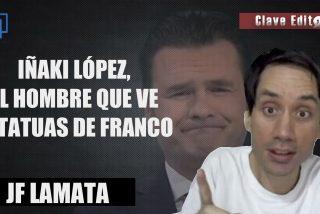 Iñaki López, el hombre que ve estatuas de Franco