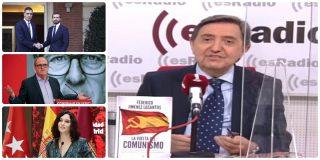 """Losantos: """"Casado le da una torta a Ayuso haciendo Defensor del Pueblo a Gabilondo"""""""