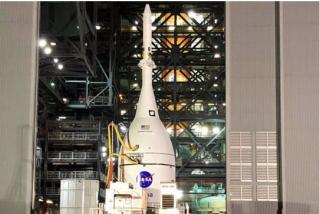 La NASA ya tiene lista la nave que enviará humanos de nuevo a la Luna