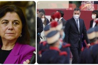 Twitter se revuelve contra la podemita Lucía Méndez por censurar los abucheos de los ciudadanos a Pedro Sánchez