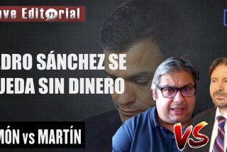 """Simón vs. Martín: """"a Pedro Sánchez no le llegan los Fondos Europeos y Bruselas cortará el grifo"""""""