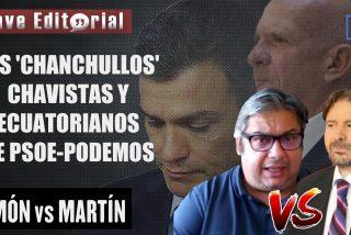 Brutal bronca entre Simón y Martín por los 'chanchullos' de PSOE-Podemos y la inacción de la Fiscalía