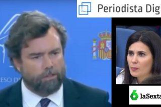 Zasca: Espinosa de los Monteros (VOX) da un repaso a la periodista María Llapart (LaSexta)