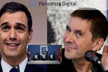 La siniestra jugada del terrorista Otegi: blanquear al socialista Sánchez para entrar en La Moncloa
