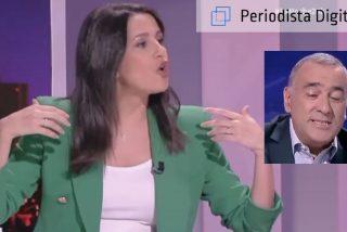 TVE: ¿a qué no adivinas cuántos zascas le pega Inés Arrimadas al periodista Fortes?