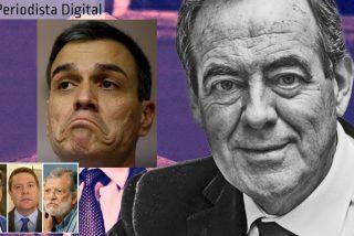 El socialista Sánchez, el etarra Otegi y el silencio de los borregos: Bono, Page, Ibarra, Vara...