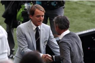 """Un modesto Mancini ante la F4 de la Liga de las Naciones: """"Tiene razón Luis Enrique, tarde o temprano perderemos"""""""