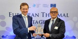 """El Presidente de la Diputación de Ourense preside el """"Día Europeo del Patrimonio Termal"""" promovido por la EHTTA"""