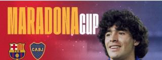 El FC Barcelona y Boca Juniors jugarán la Maradona Cup en honor del '10'