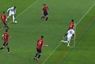 Robo en el España-Francia: el VAR dio por válido un gol de Mbappé en fuera de fuego