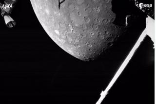 La misión BepiColombo entrega sus primeros análisis  científicos de Mercurio
