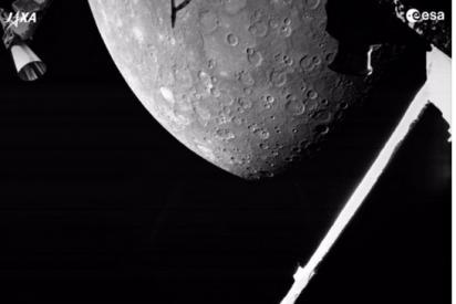 Así son las primeras fotos de Mercurio de la misión BepiColombo