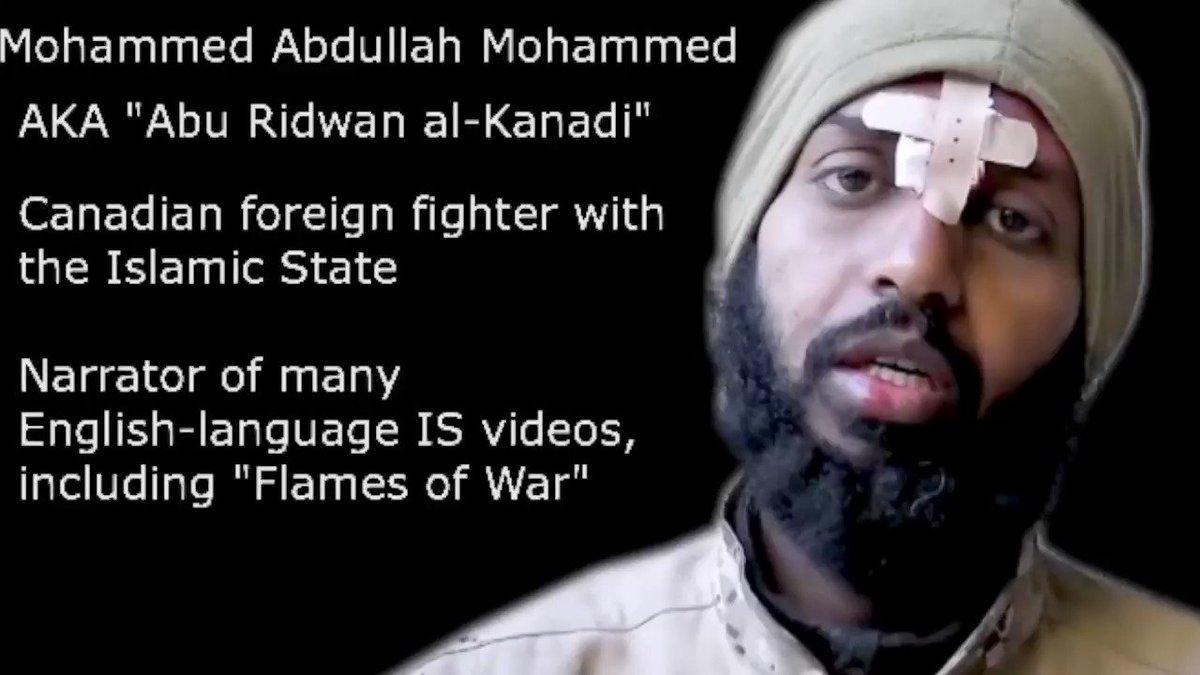 Este musulmán nacionalizado canadiense es la misteriosa voz detrás de los videos de decapitaciones del ISIS