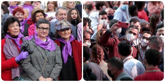 El PSOE y el Covid-19: Tras el mortífero 8-M, ahora desata un nuevo brote en su Congreso de Valencia