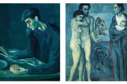 La Inteligencia Artificial encuentra un Picasso oculto en otra pintura