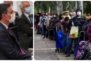 Todo en Sánchez es 'fake': Ni el bono eléctrico ni el Ingreso Mínimo Vital protegen a las familias más vulnerables