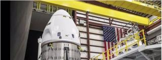 Cambian el váter de la nave espacial Space X tras detectar peligrosas fugas