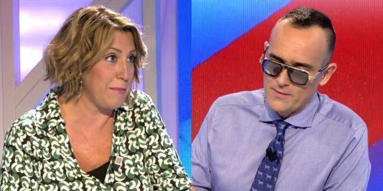 Susana Díaz se lleva un 'sopapo' de Risto por burlarse del 'divorcio' de Ayuso y Casado