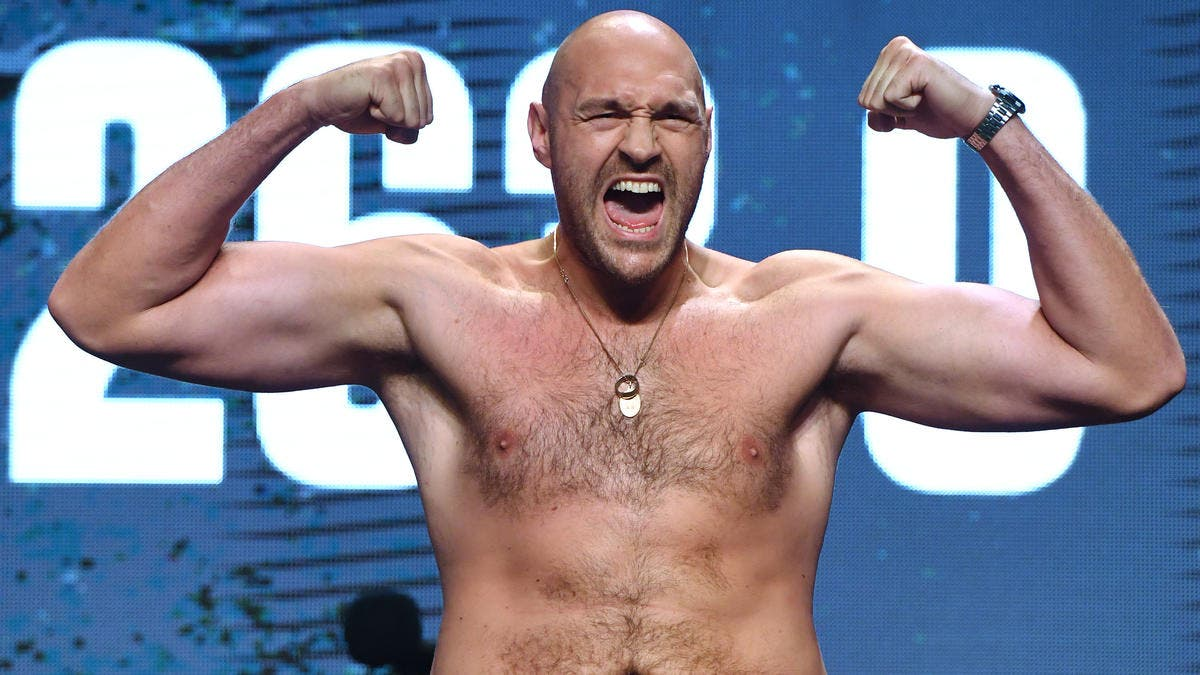 Tyson Fury revela que ha dejado de 'pelársela' 7 veces al día