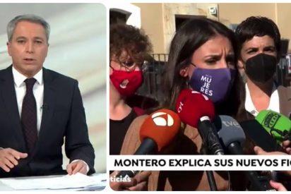 Vallés hace picadillo al Gobierno Sánchez por su silencio ante los 'condenados' fichajes de Irene Montero