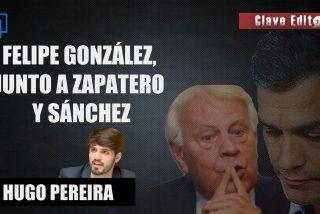 """Hugo Pereira: """"Felipe González acabó sentado con Zapatero, el de la mina de oro en Venezuela"""""""