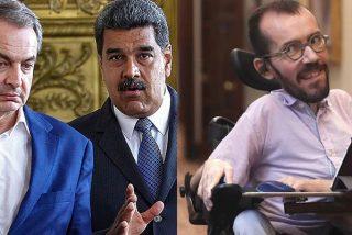 """Patinazo de Echenique: Tilda la mina de oro de Zapatero en Venezuela de """"rumor"""" y desde las FARC le 'corrigen'"""