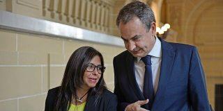 """Delcygate: Sánchez oculta que la 'número dos' de Maduro viajó a Madrid """"invitada"""" por Zapatero"""
