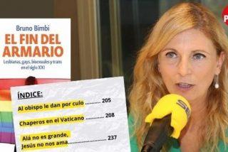 Los 'educativos' libros que reparte el PSOE en institutos de Castellón: 'Chaperos en el Vaticano' o 'Al obispo le dan por culo'