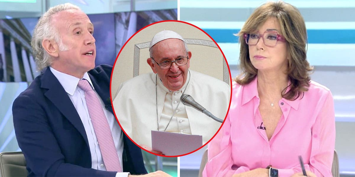 """Ana Rosa e Inda cierran la boca al Papa: """"Es comunista y el representante del diablo en la Tierra"""""""