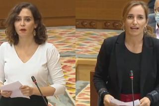 """Ayuso, a Mónica García: """"Habéis pasado de asaltar capillas a defender al Papa, ¡hipócrita!"""""""