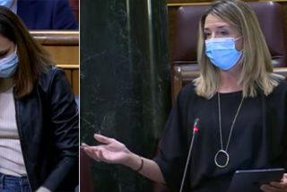 """Una diputada del PP abochorna a Belarra: """"Huele a podrido y usted está ahí tumbada a la fresca"""""""