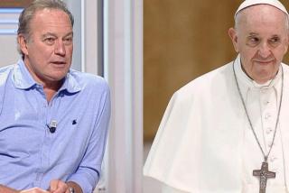 """Bertín Osborne atiza al Papa Francisco: """"No lo puedo ni ver, es un bocazas que dice estupideces"""""""
