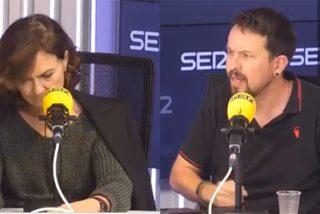 """Broncazo de Iglesias a Calvo en la radio por las tremendas tensiones del Gobierno: """"¡Al socio se le respeta!"""""""