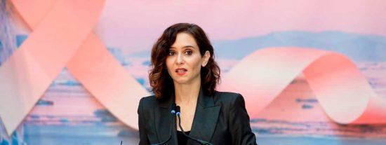 Díaz Ayuso anuncia una campaña de cribados masivos para detectar cáncer de mama