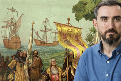 """Le sacan los colores a Escolar por publicar que la Hispanidad es un """"invento del franquismo"""" que ha """"recogido Ayuso"""""""