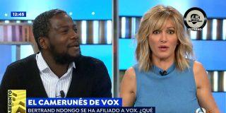 """Resucitan el divertido 'zasca' del negro de VOX a Griso por decirle que no tiene """"legitimidad para hablar de Franco"""""""