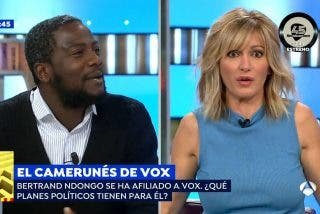"""El divertido 'zasca' del negro de VOX a Griso por decirle que no tiene """"legitimidad para hablar de Franco"""""""